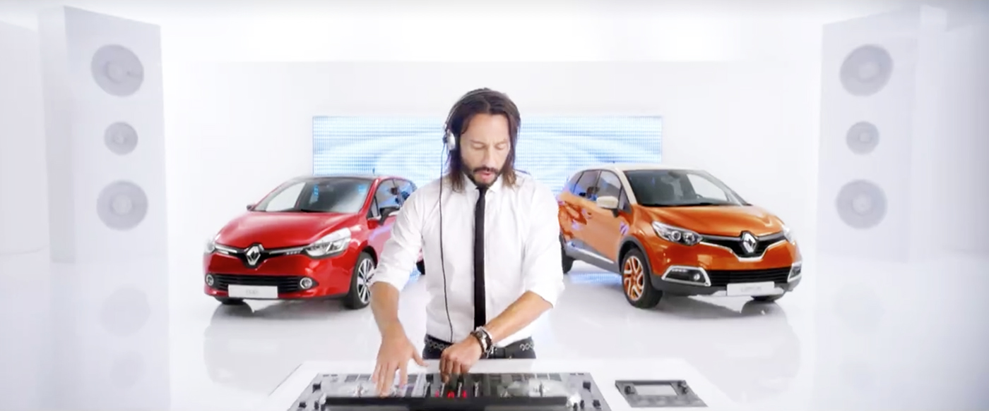 musique de pub renault avec bob sinclar 2016 musique. Black Bedroom Furniture Sets. Home Design Ideas
